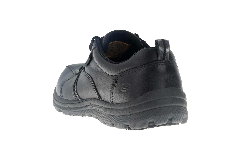 Skechers HOBBES FRAT - EC Sneakers in Übergrößen Schwarz 77036EC BLK große Herrenschuhe – Bild 2