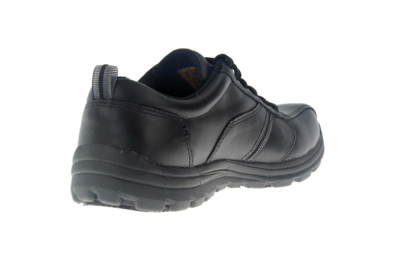 Skechers HOBBES FRAT - EC Sneakers in Übergrößen Schwarz 77036EC BLK große Herrenschuhe – Bild 3
