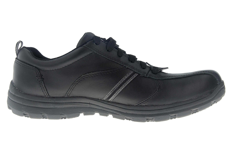 Skechers HOBBES FRAT - EC Sneakers in Übergrößen Schwarz 77036EC BLK große Herrenschuhe – Bild 4