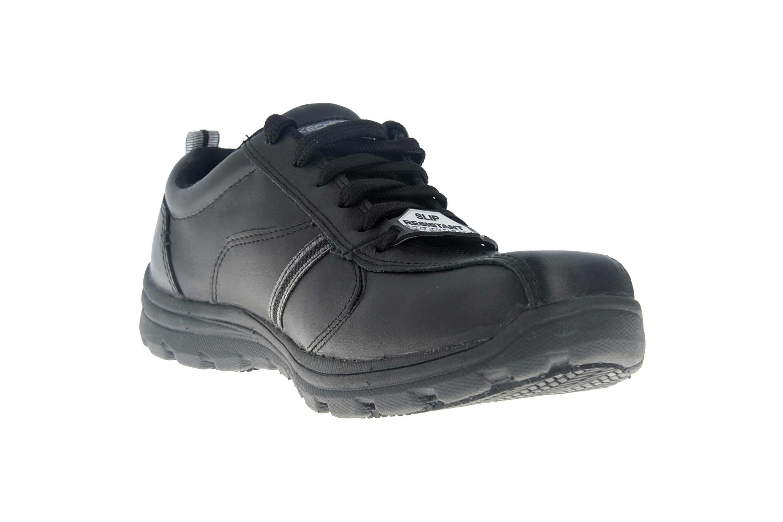 Skechers HOBBES FRAT - EC Sneakers in Übergrößen Schwarz 77036EC BLK große Herrenschuhe – Bild 5