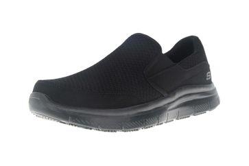 Skechers FLEX ADVANTAGE SR MCALLEN Sneakers in Übergrößen Schwarz 77048EC BBK große Herrenschuhe – Bild 6