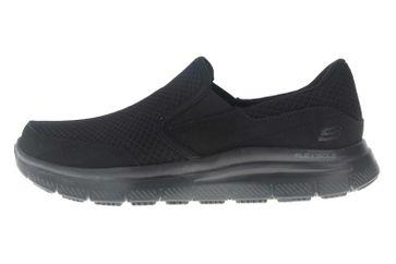Skechers FLEX ADVANTAGE SR MCALLEN Sneakers in Übergrößen Schwarz 77048EC BBK große Herrenschuhe – Bild 1