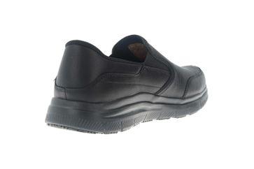 Skechers FLEX ADVANTAGE SR BRONWOOD Sneakers in Übergrößen Schwarz 77071EC BLK große Herrenschuhe – Bild 3