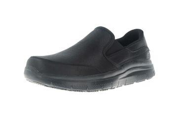 Skechers FLEX ADVANTAGE SR BRONWOOD Sneakers in Übergrößen Schwarz 77071EC BLK große Herrenschuhe – Bild 6