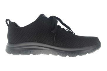 Skechers FLEX ADVANTAGE SR Sneakers in Übergrößen Schwarz 77125EC BLK große Herrenschuhe – Bild 4