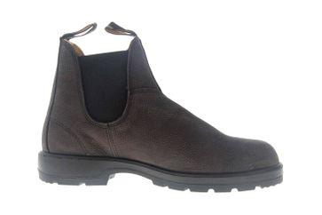 Blundstone 1464 Grey Nubuck Stiefeletten in Übergrößen Grau 1464 große Chelsea Boots – Bild 4