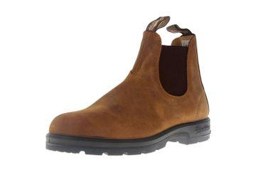 Blundstone 562 Crazy Horse Brown Stiefeletten in Übergrößen Braun 562 große Chelsea Boots – Bild 6