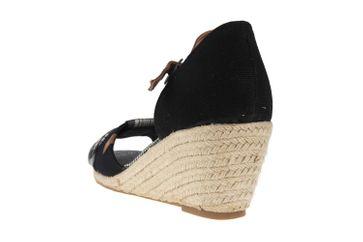 Mustang Shoes Sandaletten in Übergrößen Schwarz 1066-901-9 große Damenschuhe – Bild 2