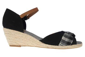 Mustang Shoes Sandaletten in Übergrößen Schwarz 1066-901-9 große Damenschuhe – Bild 4