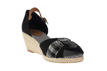Mustang Shoes Sandaletten in Übergrößen Schwarz 1066-901-9 große Damenschuhe – Bild 5