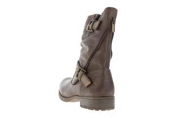 Mustang Shoes Booty in Übergrößen Braun 1139-619-360 große Damenschuhe – Bild 2