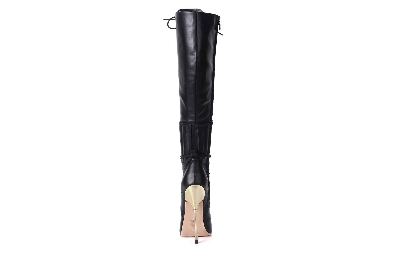 GIARO Brainbuster Black Matte Stiefel in Übergrößen Schwarz große Damenschuhe – Bild 2