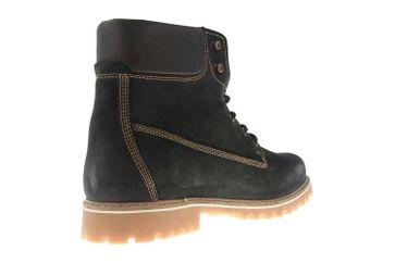 Mustang Shoes Boots in Übergrößen Schwarz/Braun 4875-605-93 große Herrenschuhe – Bild 3