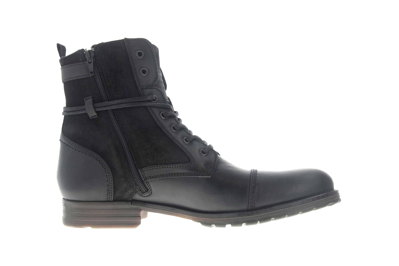 Mustang Shoes Ankle Boots in Übergrößen Schwarz 4899-501-9 große Herrenschuhe – Bild 4