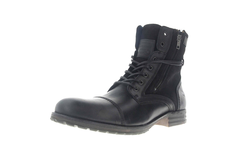 Mustang Shoes Ankle Boots in Übergrößen Schwarz 4899-501-9 große Herrenschuhe – Bild 6