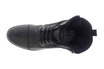 Mustang Shoes Ankle Boots in Übergrößen Schwarz 4899-501-9 große Herrenschuhe – Bild 7