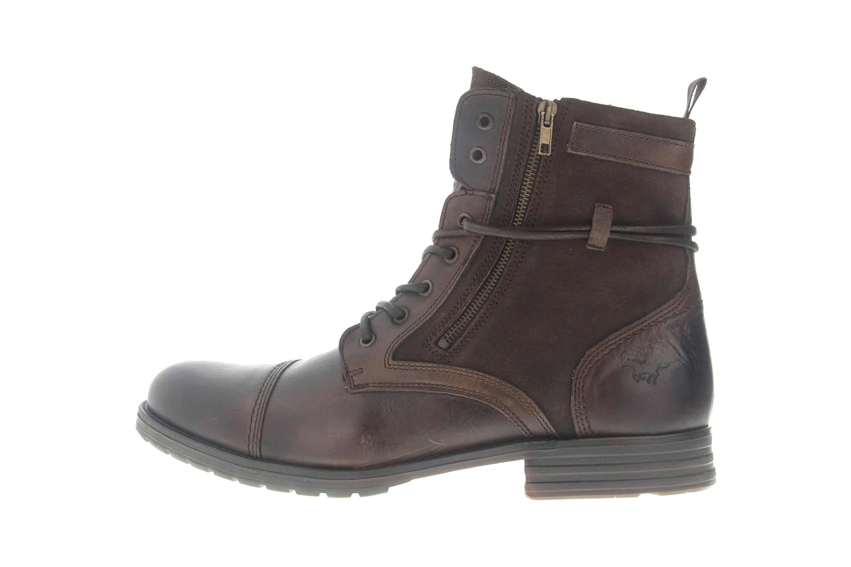 Mustang Shoes Ankle Boots in Übergrößen Dunkelbraun 4899-501-32 große  Herrenschuhe – Bild 3feb4320ec