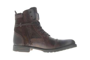 Mustang Shoes Ankle Boots in Übergrößen Dunkelbraun 4899-501-32 große Herrenschuhe – Bild 4