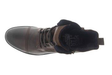 Mustang Shoes Ankle Boots in Übergrößen Dunkelbraun 4899-501-32 große Herrenschuhe – Bild 7