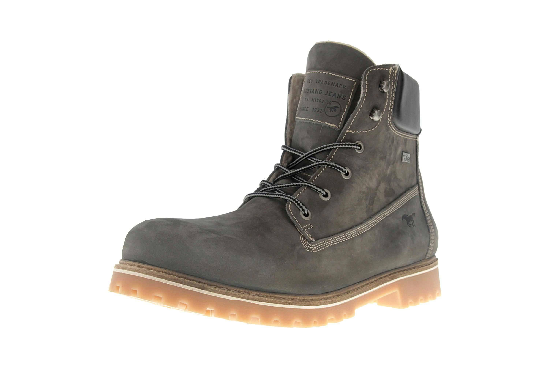 Mustang Shoes Boots in Übergrößen Dunkelgrau 4875-605-20 große Herrenschuhe – Bild 6