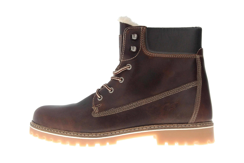 a3c66abaa19e78 Mustang Shoes Boots in Übergrößen Dunkelbraun 4873-602-32 große Herrenschuhe  ...