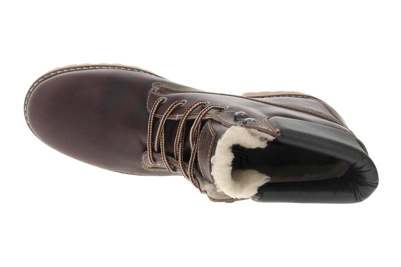 Mustang Shoes Boots in Übergrößen Dunkelbraun 4873-602-32 große Herrenschuhe – Bild 7
