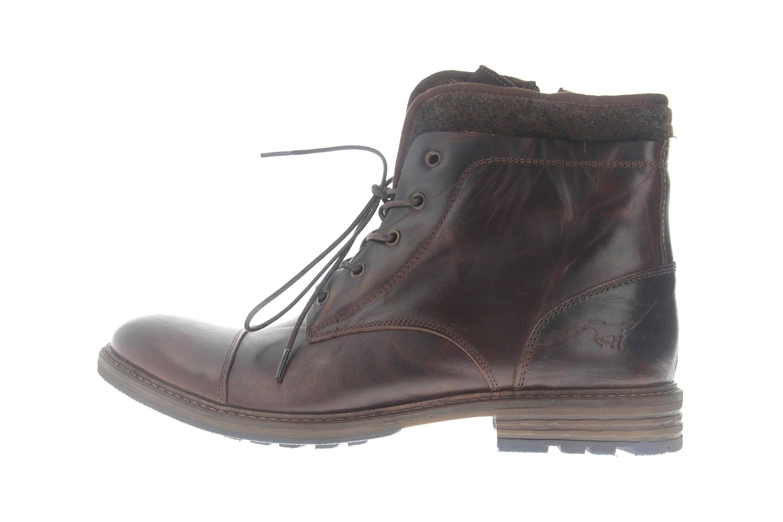 Mustang Shoes Boots in Übergrößen Dunkelbraun 2853-601-32 große Damenschuhe – Bild 1