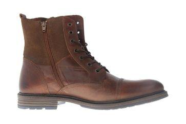 Mustang Shoes Boots in Übergrößen Braun 2853-502-3 große Damenschuhe – Bild 4