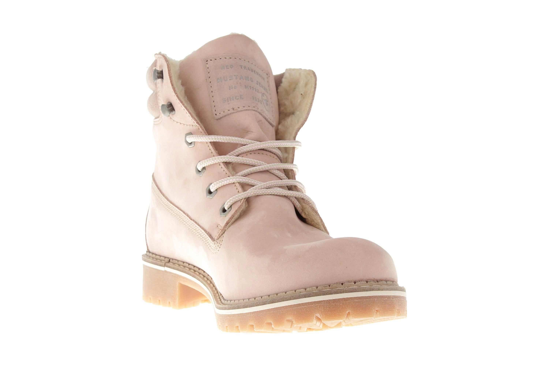 Mustang Shoes Boots in Übergrößen Rose 2837-604-555 große Damenschuhe – Bild 5