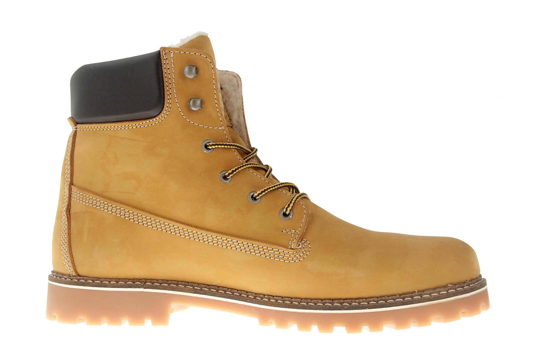 Mustang Shoes Boots in Übergrößen Camel 4875-605-66 große Herrenschuhe – Bild 4