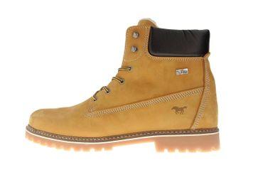 Mustang Shoes Boots in Übergrößen Camel 4875-605-66 große Herrenschuhe – Bild 1