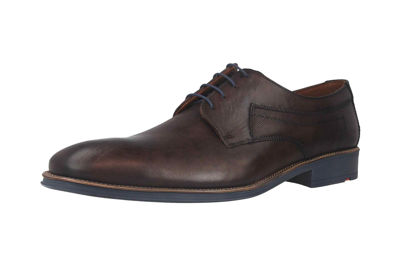 LLOYD GENF Business-Schuhe in Übergrößen Braun 19-059-16 große Herrenschuhe – Bild 6