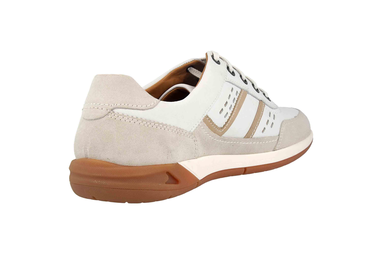 Fretz Men Toro Sneaker in Übergrößen Weiß 8811.6059-81 große Herrenschuhe – Bild 3