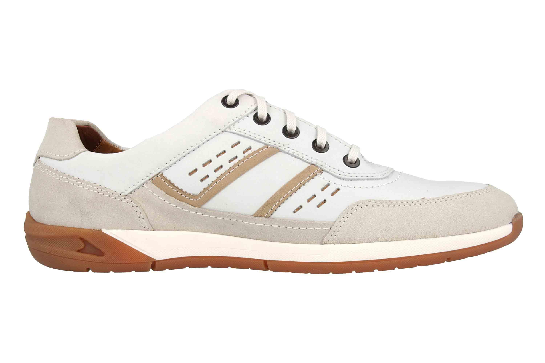 Fretz Men Toro Sneaker in Übergrößen Weiß 8811.6059-81 große Herrenschuhe – Bild 4