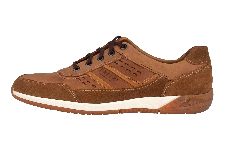 Fretz Men Toro Sneaker in Übergrößen Braun 8811.6059-90 große Herrenschuhe – Bild 1