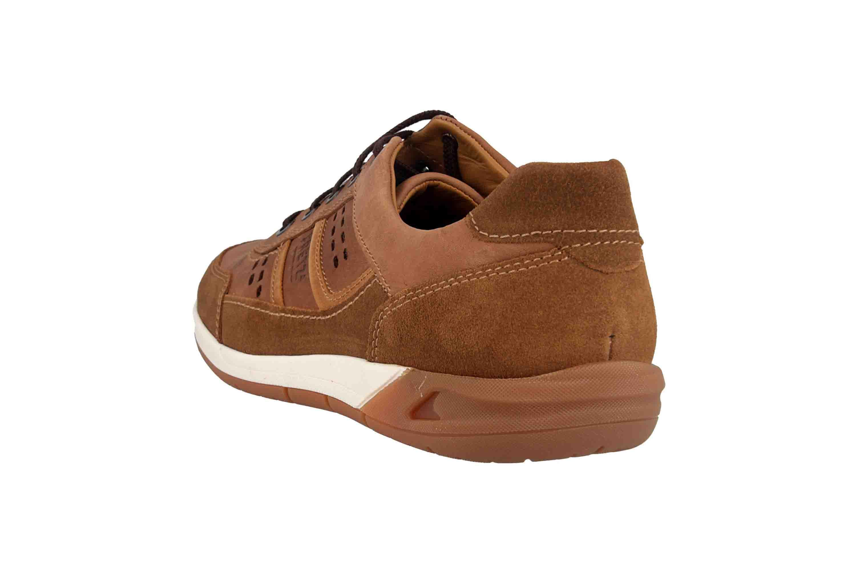 Fretz Men Toro Sneaker in Übergrößen Braun 8811.6059-90 große Herrenschuhe – Bild 2