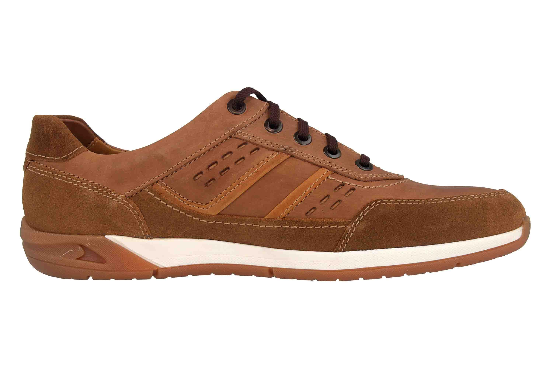 Fretz Men Toro Sneaker in Übergrößen Braun 8811.6059-90 große Herrenschuhe – Bild 4