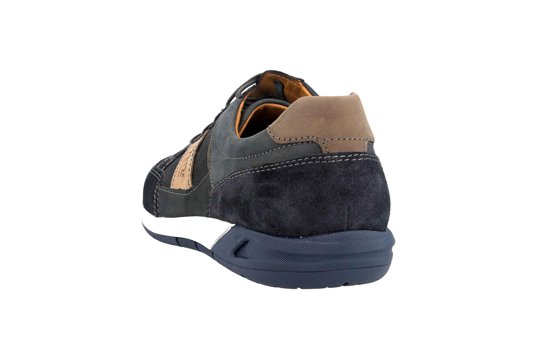 Fretz Men Toro Sneaker in Übergrößen Blau 8810.6059-1 große Herrenschuhe – Bild 2