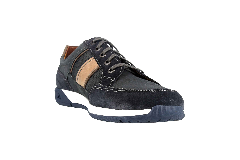 Fretz Men Toro Sneaker in Übergrößen Blau 8810.6059-1 große Herrenschuhe – Bild 5