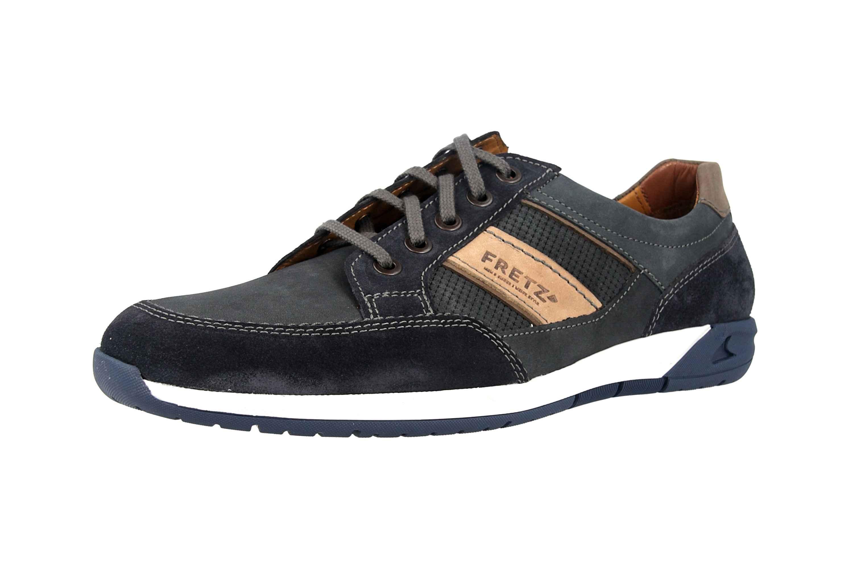 Fretz Men Toro Sneaker in Übergrößen Blau 8810.6059-1 große Herrenschuhe – Bild 6