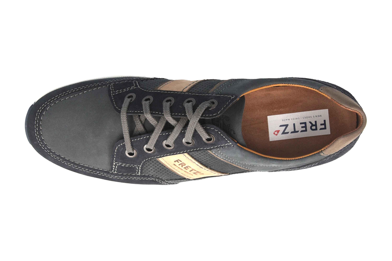 Fretz Men Toro Sneaker in Übergrößen Blau 8810.6059-1 große Herrenschuhe – Bild 7