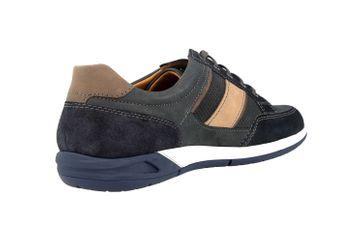 Fretz Men Toro Sneaker in Übergrößen Blau 8810.6059-1 große Herrenschuhe – Bild 3