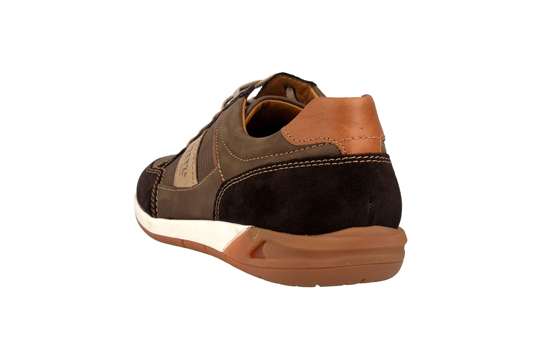 Fretz Men Toro Sneaker in Übergrößen Braun 8810.6059-59 große Herrenschuhe – Bild 2