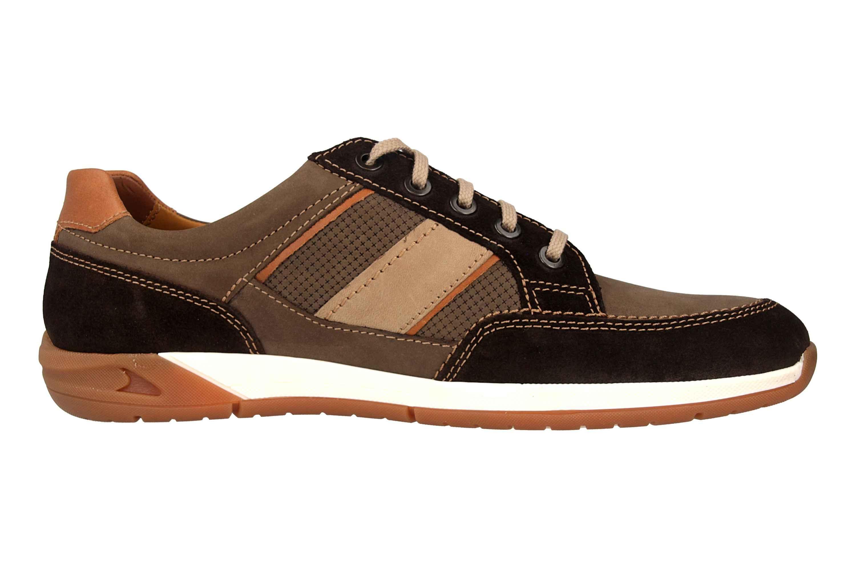 Fretz Men Toro Sneaker in Übergrößen Braun 8810.6059-59 große Herrenschuhe – Bild 4