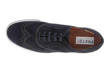 Fretz Men Montana Sneaker in Übergrößen Blau 4213.7459-1 große Herrenschuhe – Bild 7