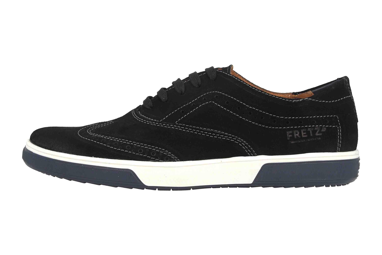 Fretz Men Montana Sneaker in Übergrößen Schwarz 4213.7459-51 große Herrenschuhe – Bild 1
