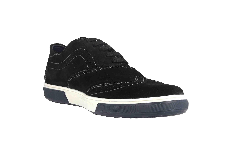 Fretz Men Montana Sneaker in Übergrößen Schwarz 4213.7459-51 große Herrenschuhe – Bild 5