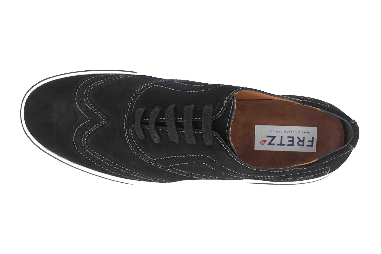Fretz Men Montana Sneaker in Übergrößen Schwarz 4213.7459-51 große Herrenschuhe – Bild 7