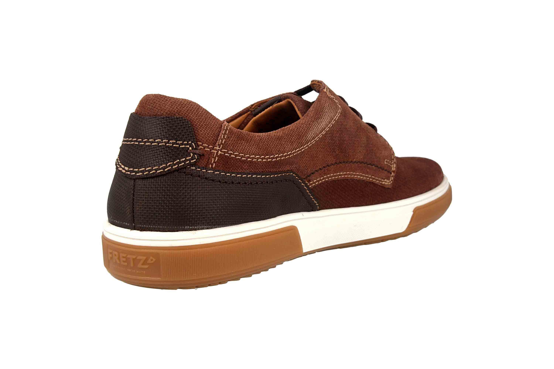 Fretz Men Montana Sneaker in Übergrößen Braun 4210.7459-82 große Herrenschuhe – Bild 3