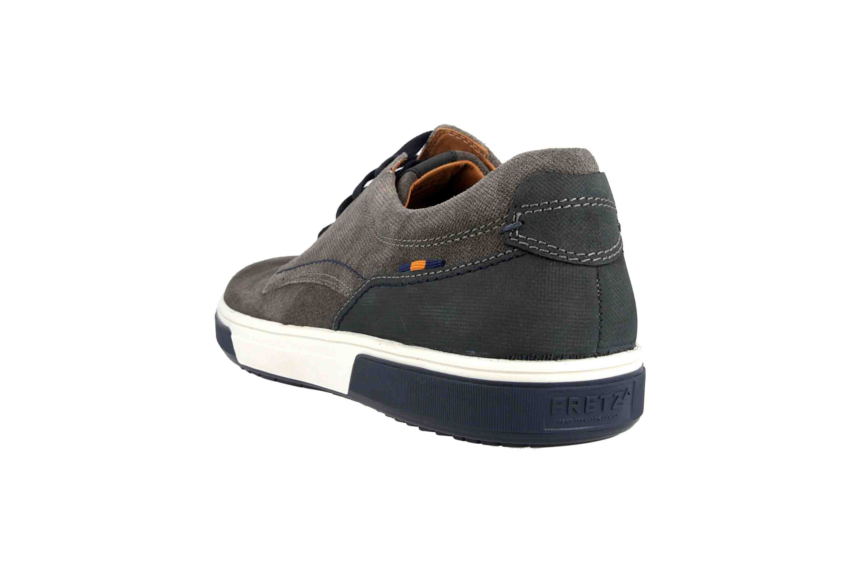 Fretz Men Montana Sneaker in Übergrößen Grau 4210.7459-53 große Herrenschuhe – Bild 2
